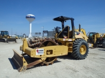 2007 Cat CP563-E Padfoot Roller