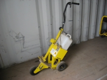 Wacker saw cart