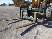 "JRB 106"" x 72"" Wheel Loader Forks"