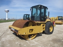 2007 Cat CS563E Smooth Drum