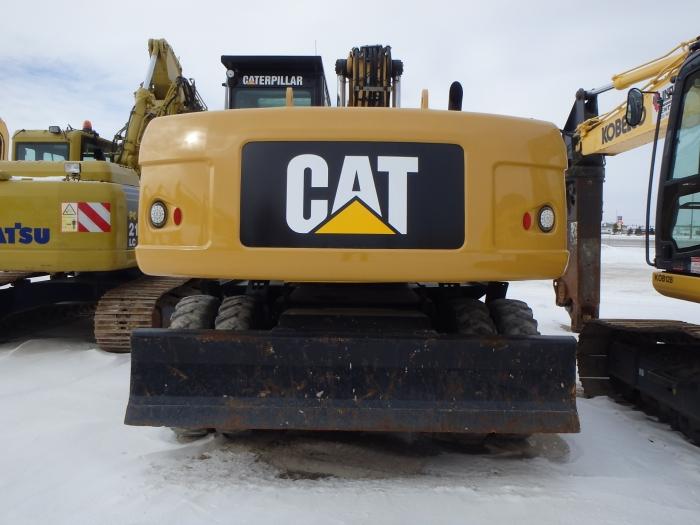 Used Cat Excavator M322d Wheeled