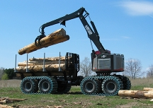 2013 TimberPro 830B Forwarder
