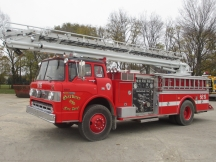 1978 Ford 8000 COE Ladder Fire