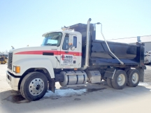 2008 Mack CHU613 Pinnacle Tandem Dump