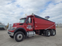 2013 International 7500 Tandem Dump