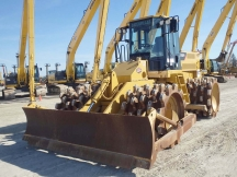 2011 Cat 815F Series II Padfoot Roller