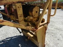 USED Ramsey Attachments 3 Point Mounted Hydraulic Winch