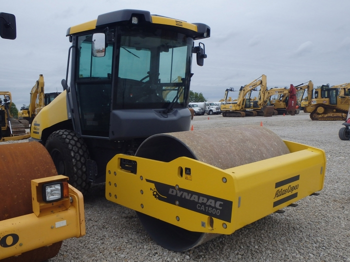 Used Dynapac Compaction Equipment Ca1500d Smooth Drum